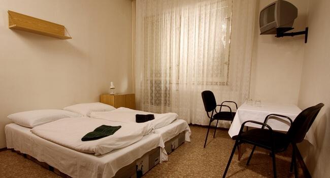 Ubytování v pokojích